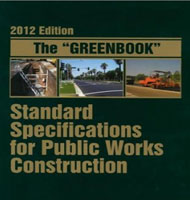 Greenbook Standard Specifications for Public Works Construction