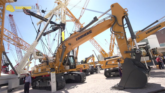 Liebherr R 956 HD Crawler Excavator – The latest construction equipment in 50-tonne class