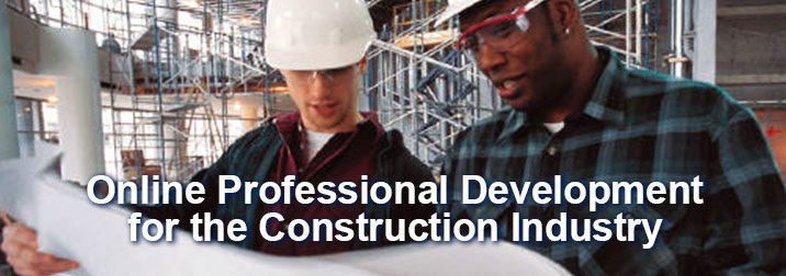 Online professional certification on Construction Estimating