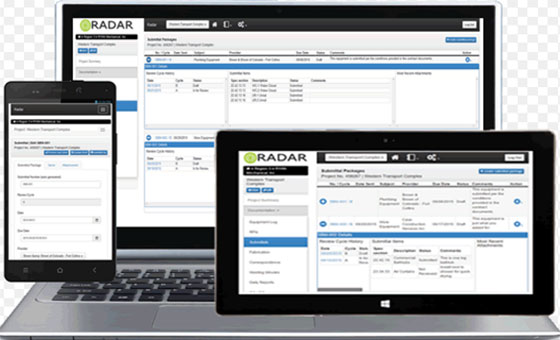 Radar Construction Management Software