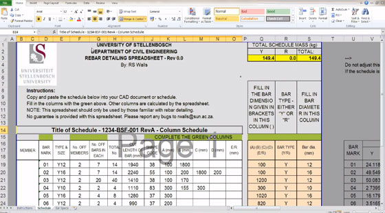 How to Detail Steel Reinforcing Bending Schedules for Concrete