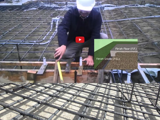 How to Build a Concrete Slab Footing