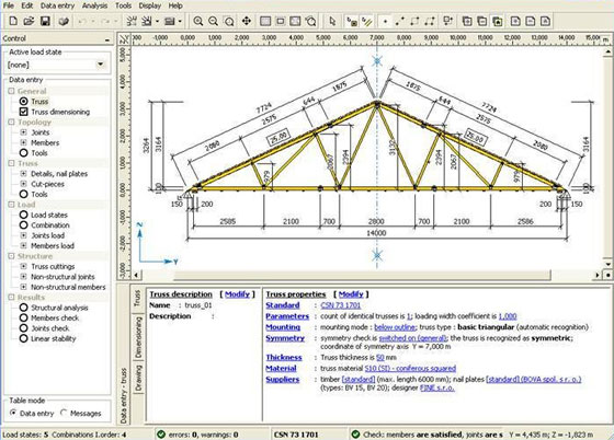 TRUSS4 Is A Useful Construction Software For Structural Design